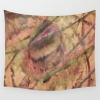 science Wall Tapestries featuring Natural Science by Awesome Palette
