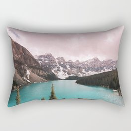 Moraine Lake Banff National Park Rectangular Pillow