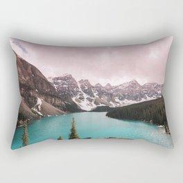Moraine Lake Banff National Park Rectangular Pillow