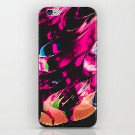 Abstract Splatter Paint v6 iPhone Skin