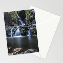 Elabana Falls in the Gold Coast Hinterlands Stationery Cards