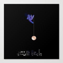 Moon Yo-yo Canvas Print