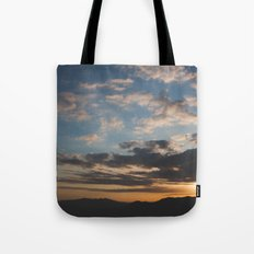 Sunset Hike Los Angeles Tote Bag