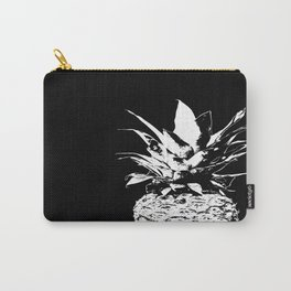Pineapple Black and White #decor #society6 Carry-All Pouch