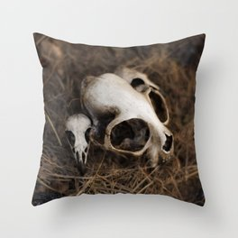 Witch Ritual Throw Pillow