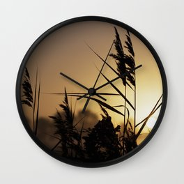 Impressions in autumn Wall Clock