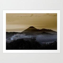 Mt. Bromo, Indonesia Art Print