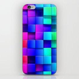 Cubical iPhone Skin