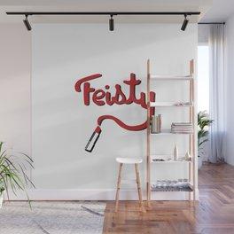 Feisty Wall Mural