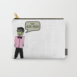 Hipster Frank Color Carry-All Pouch