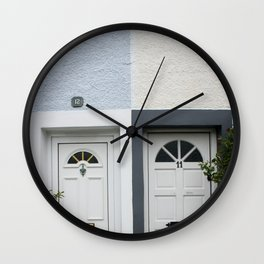 Front Doors Wall Clock