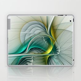 Fractal Evolution, Abstract Art Graphic Laptop & iPad Skin