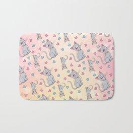 Diana Pattern Bath Mat