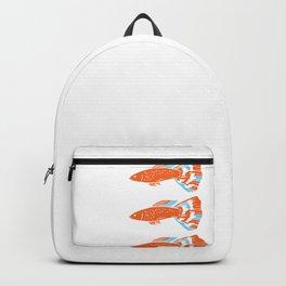 Aquarium Guppys Guppy Fish Owner Gift Backpack