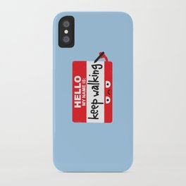 The Red Badge of Discourage iPhone Case