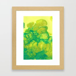 Green #2 Framed Art Print