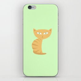 Mysterious Cat iPhone Skin