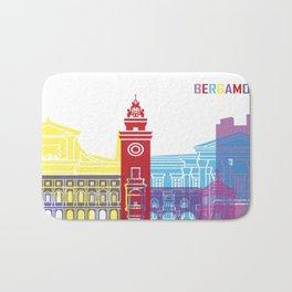 Bergamo skyline pop Bath Mat