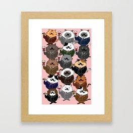 FAT CAT Framed Art Print