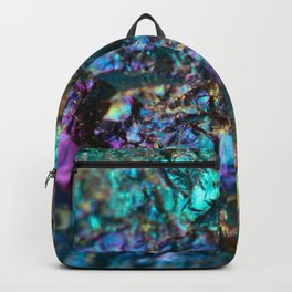 Turquoise Oil Slick Quartz Backpack