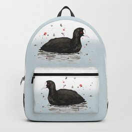 Common coot Backpack