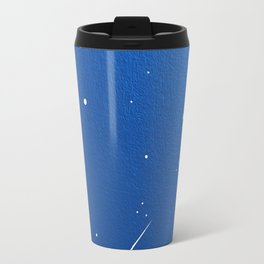 Shooting Stars in a Clear Blue Sky Travel Mug