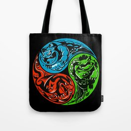 POKéMON STARTER: THREE ELEMENTS Tote Bag
