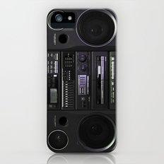 Boombox iPhone (5, 5s) Slim Case