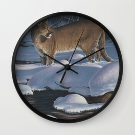 Interrupted Silence Wall Clock