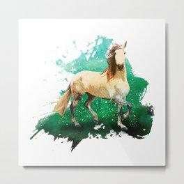 The wonderful horse Metal Print