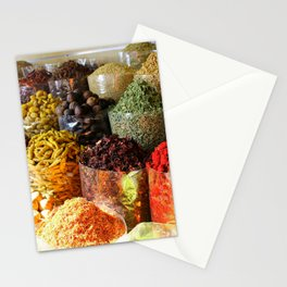 Dubai Creek Spices Stationery Cards