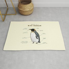 Anatomy of a King Penguin Rug