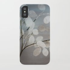 WHITE PAPER FLOWERS Slim Case iPhone X