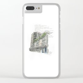 41 Victoria Street Clear iPhone Case