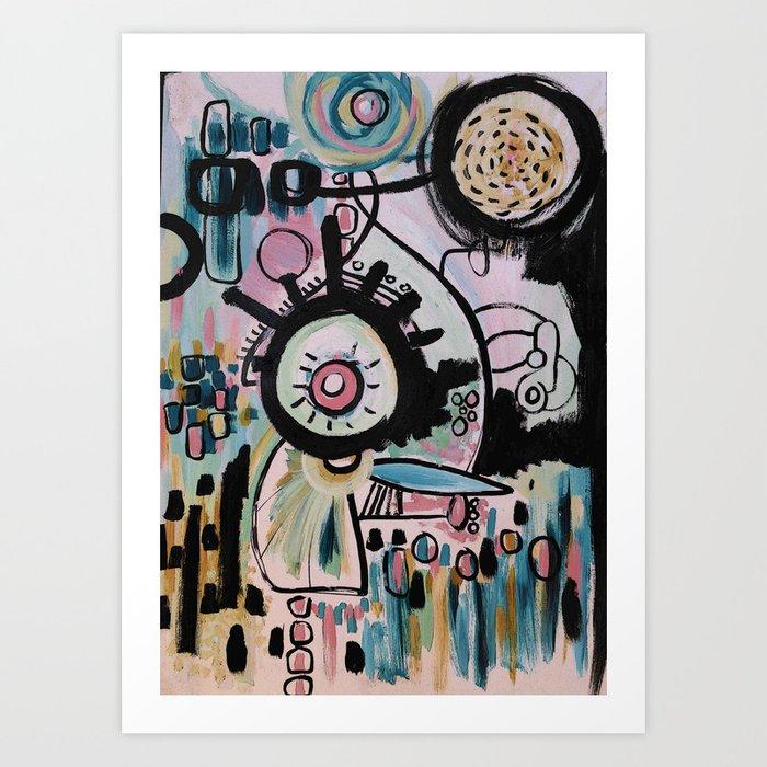Obius Art Print