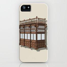 Colonial Balcony - Balcon colonial iPhone Case