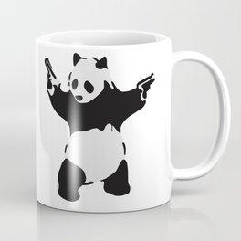 Banksy Pandamonium Armed Panda Artwork, Pandemonium Street Art, Design For Posters, Prints, Tshirts Coffee Mug