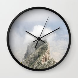 Guadalupe Mountains Wall Clock