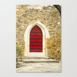 Red Door No. 2 Canvas Print