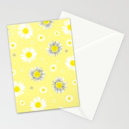 Daisies - Yellow Stationery Cards
