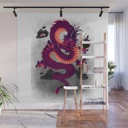 Halloween Chinese Dragon Wall Mural
