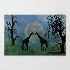 By Moonlight Canvas Print