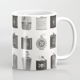 Flask Collection – Black Palette Coffee Mug