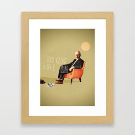 Flying Too Close To The Sun   Breaking Bad   Collage Framed Art Print