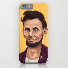 Hipstory -  Abraham Lincoln iPhone 6 Slim Case
