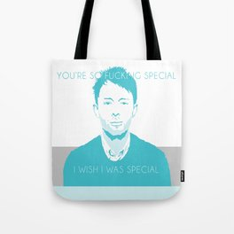 RADIOHEAD 'You're So F*king Special', inspired by Thom Yorke Tote Bag