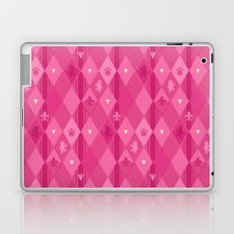 Pink Lily Bears Laptop & iPad Skin