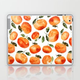 Watercolor tangerines Laptop & iPad Skin