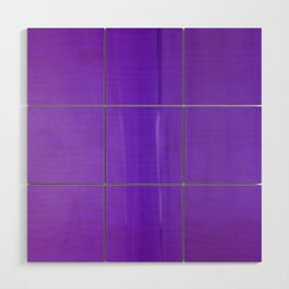 Abstract Purples Wood Wall Art