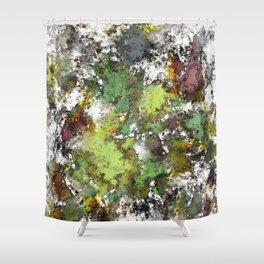 Invisible surface Shower Curtain